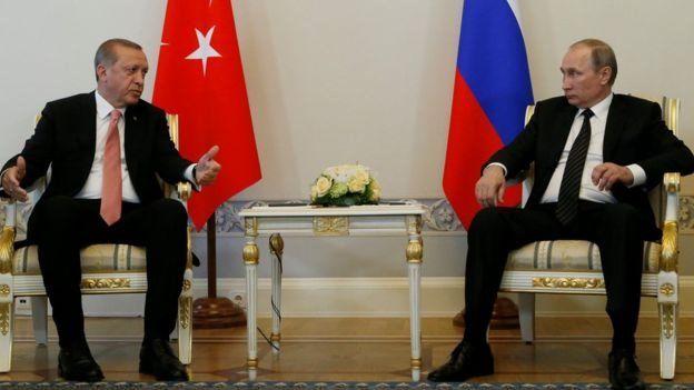 Mr Putin iyo Mr Erdogan