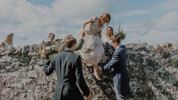 O casamento de Tess Newall