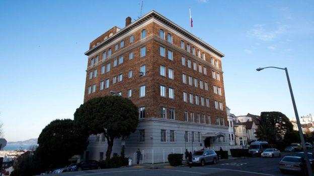 Sede del consulado de Rusia en San Francisco.