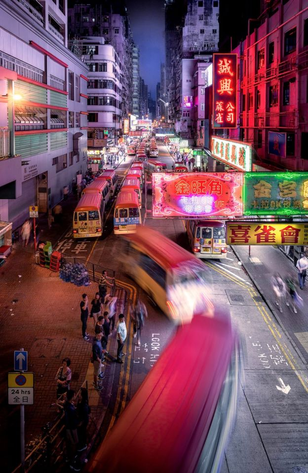 一想到這個繁華的都市很容易想起它的活力