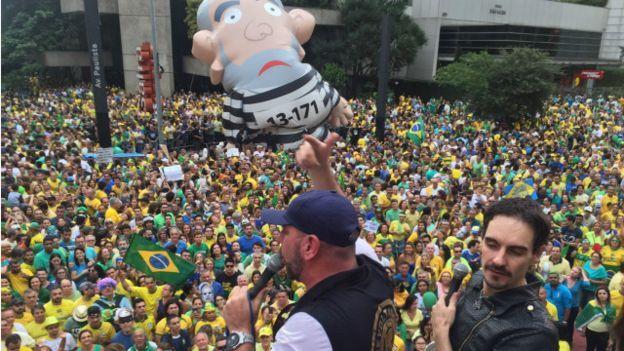 Protestos pelo impeachment de Dilma Rousseff 2016