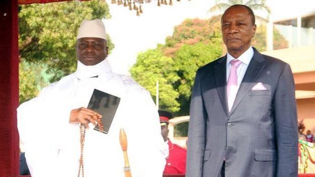 Guinée : L'option militaire de la Cédeao critiquée  par le président guinéen Alpha Condé...Les raisons!