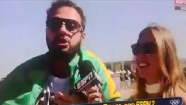 Trollagem na TV argentina