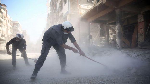 کلاه سفیدهای سوریه