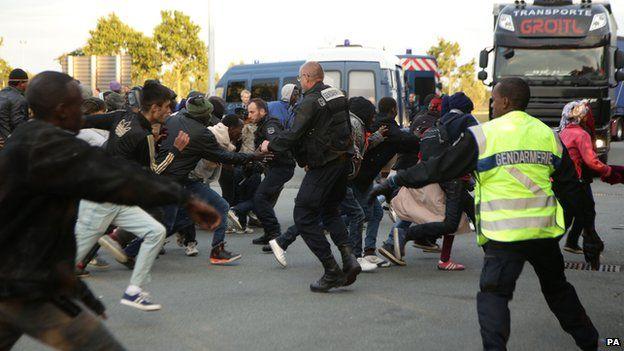 Plea for help over Calais crisis...