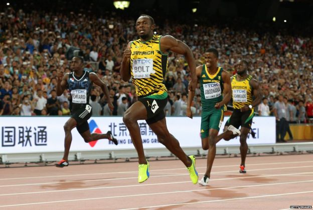 Welcome to naija updated how does usain bolt run so fast - Usain bolt running hd photos ...