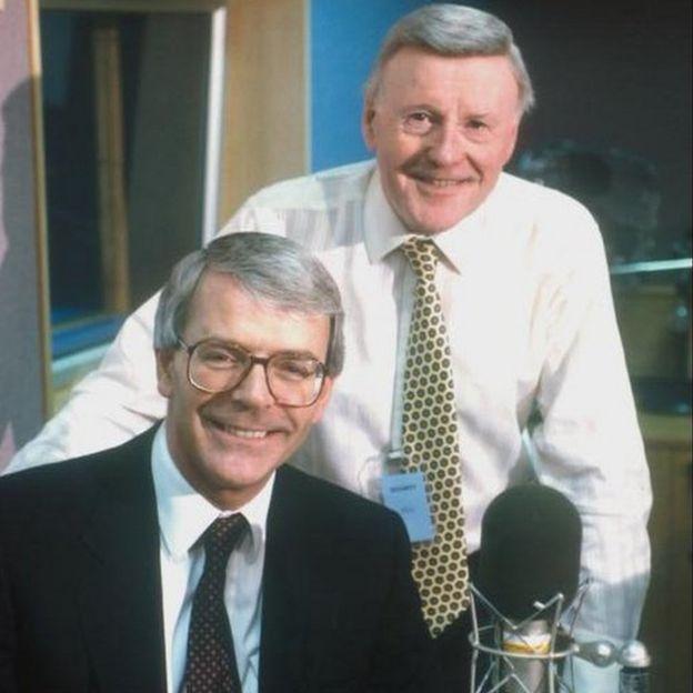 John Major & Jimmy Young