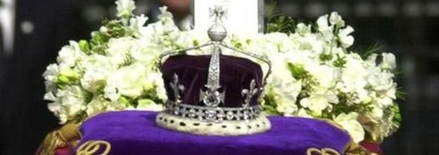 Crown of Queen Elizabeth the Queen Mother