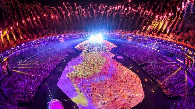 Inauguración de Río 2016