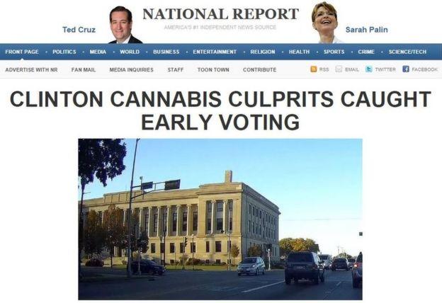 National Report primera página
