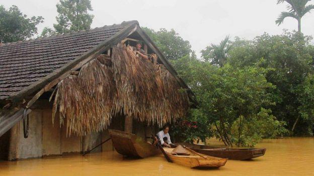 Lụt ở Hương Khê, Hà Tĩnh