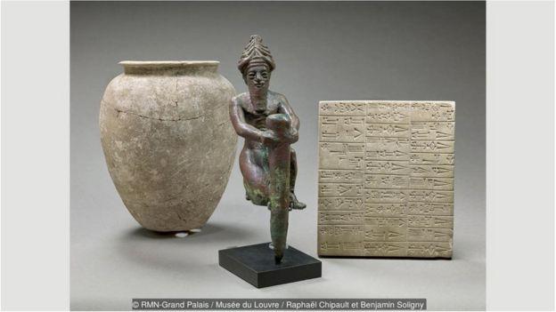 Mezopotamya kil tablet