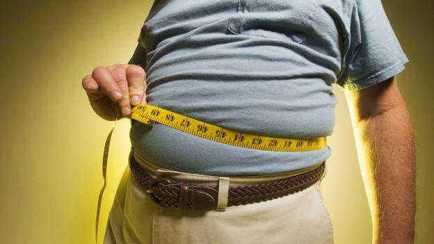 Homem obeso