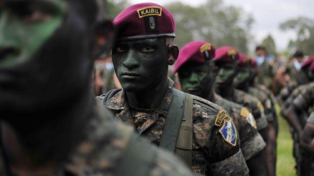 Kaibiles, tropas de élite del ejército de Guatemala