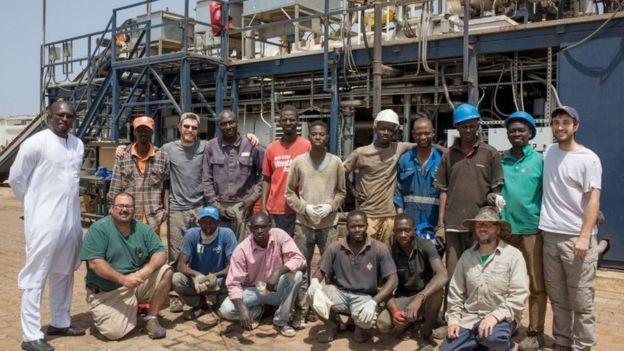 Equipe em Dacar