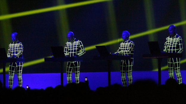 Kraftwerk perform in Skopje, 16 Jun 2005