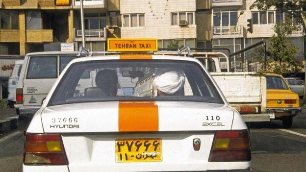 Tahran'da taksi