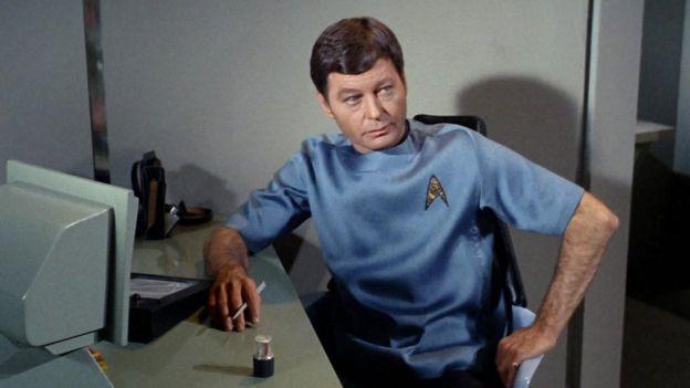 El escáner médico del doctor McCoy