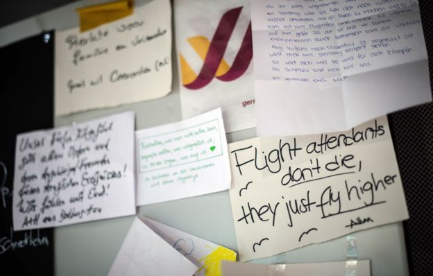 Condolence messages for victims of Germanwings crash