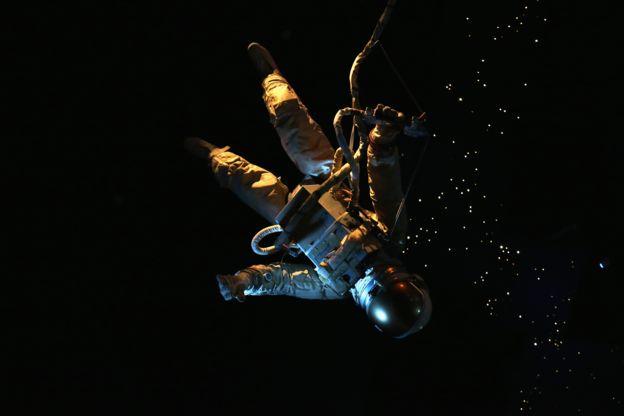 Visita al Centro Espacia Johnson de la NASA