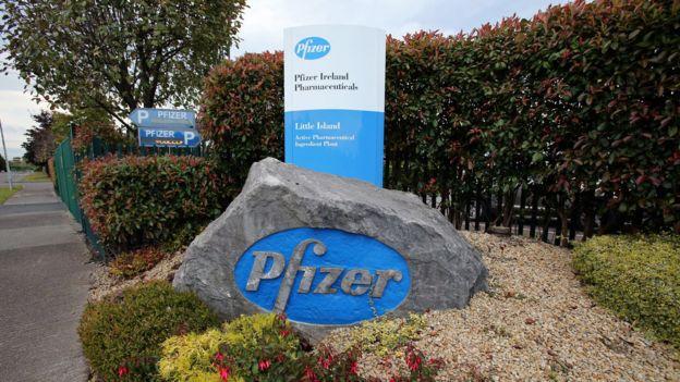 Sede de Pfizer en Irlanda.