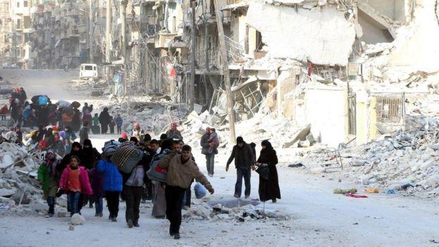 सिरियाको ऐतिहासिक शहर एलेप्पो चिहान बन्ने खतरा