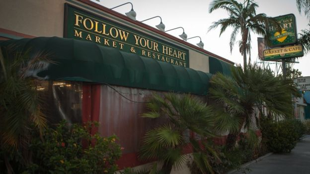 Follow Your Heart's shop and cafe in Los Angeles
