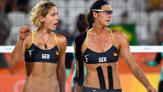 Laura Ludwig y Kira Walkenhorst