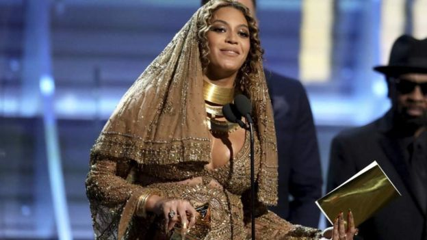 Beyonce katika tuzo za Grammys