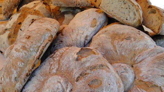 Pan desperdicio de alimentos