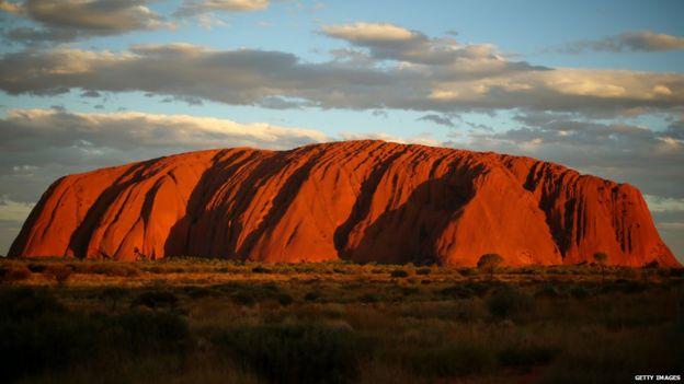 Landscape of Uluru/Ayers Rock 27 November 2013