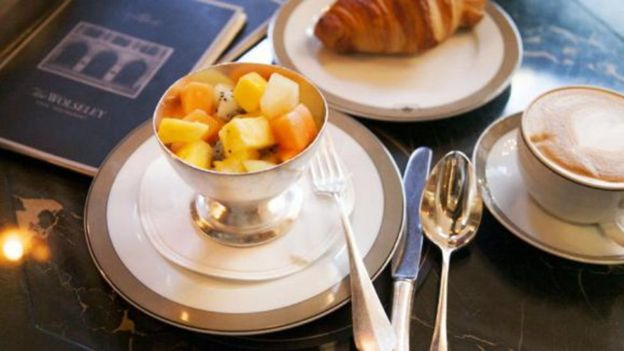 The Wolseley is a prime spot for power breakfast meetings in London