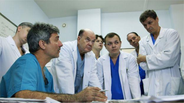 Macchiarini y sus colegas en Rusia.