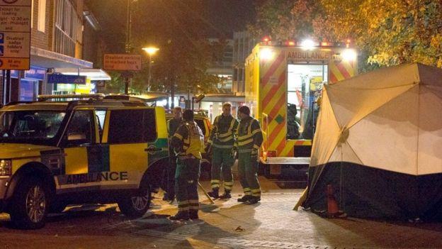Paramedics at HMP Bedford