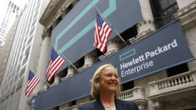 Hewlett Packard Enterprise, Meg Whitman