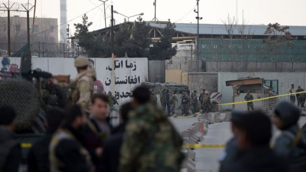 afghan forces arrive