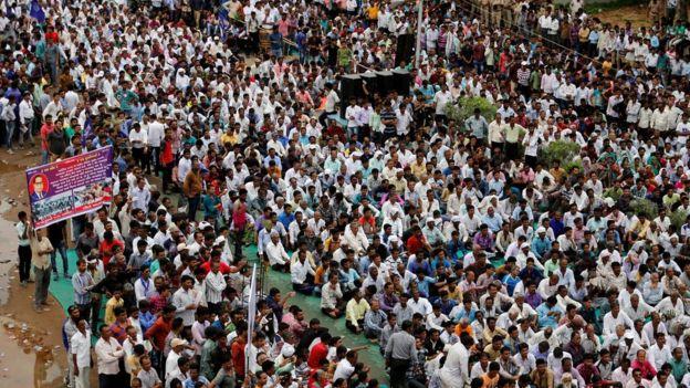 Hindistan: 25 Bin Dalit Ayrımcılığa Karşı Yürüdü