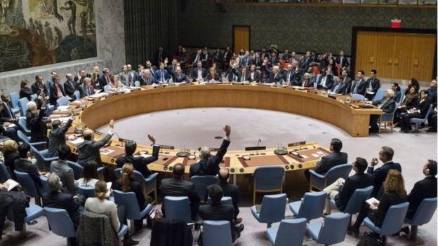 UN Security Council votes on Resolution 2334 (23/12/17)