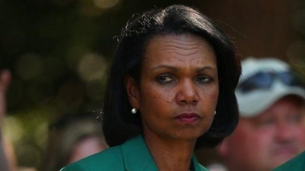 Condoleezza Rice. File photo