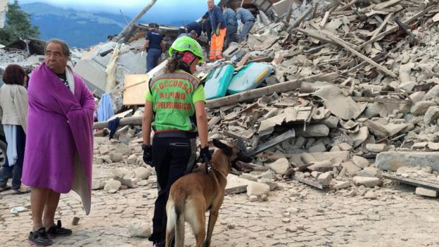 Deadly quake rocks central Italy early Wednesday morning