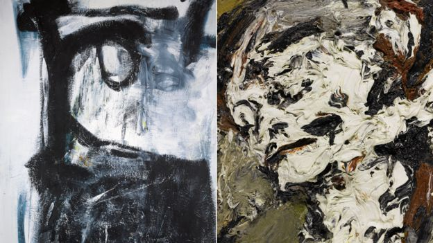 Witness by Peter Lanyon and Head of Gerda Boehm by Frank Auerbach