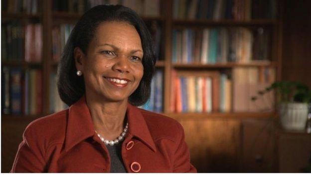 Aliyekuwa waziri wa nchi za kigeni wa Marekani Condoleezza Rice