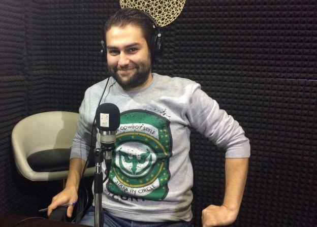Radio presenter Sami