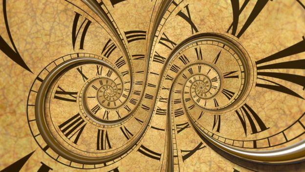 Reloj distorcionado