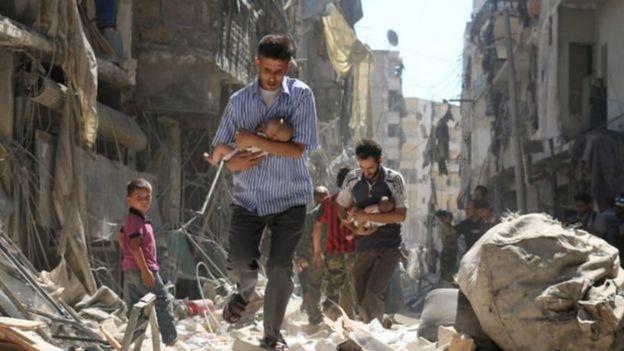 Người dân ở Syria