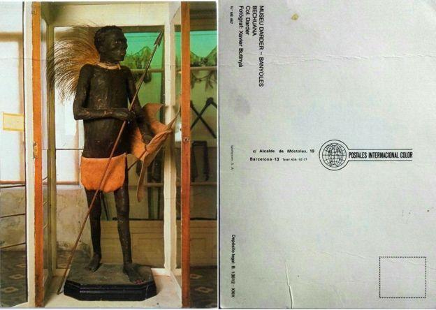 Cartão Postal vendido no museu