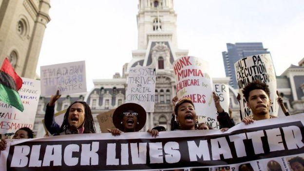 Manifestação do movimento Black Lives Matter