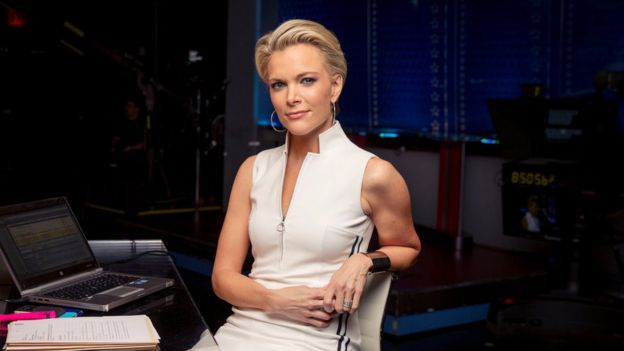 A publicity picture of Fox New journalist Megyn Kelly