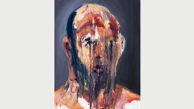 Работы Сукумарана - в большинстве своем автопортреты - дают представление о психологических издержках долгого заключения