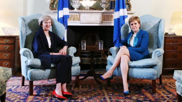 May and Sturgeon
